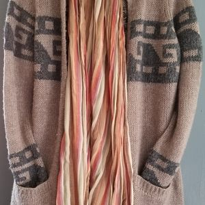 Comfortable knitted long Sweatet